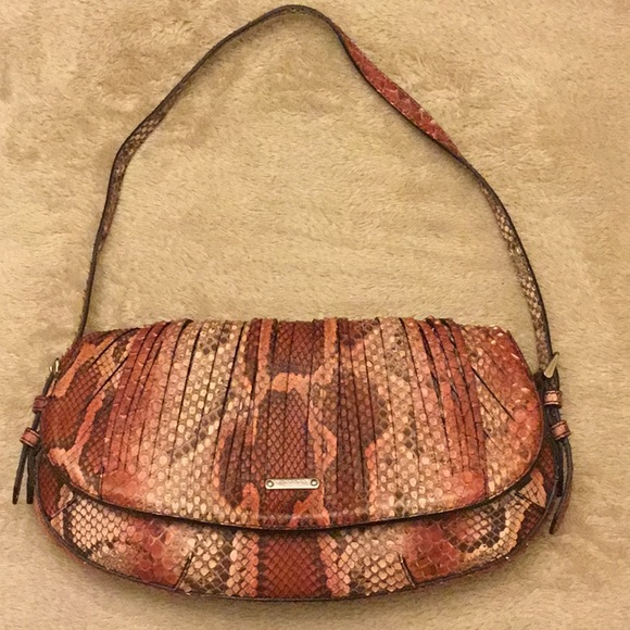 Burberry Prorsum exotic python bag. Authentic. b5540c35b694c